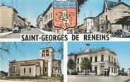 """69 RhÔne CPSM FRANCE 69 """" St Georges de Reneins, Vues"""""""