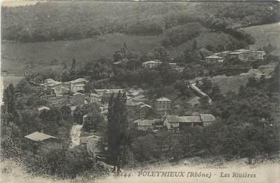 """CPA FRANCE 69 """" Poleymieux, Les rivières"""""""