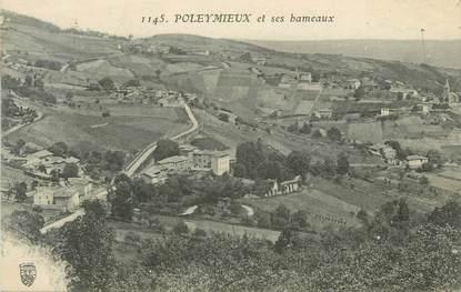 """CPA FRANCE 69 """" Poleymieux, Les hameaux"""""""