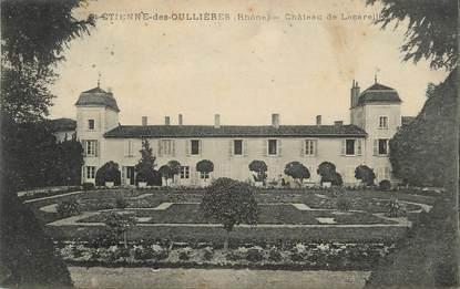 """CPA FRANCE 69 """" St Etienne des Oullières, Château de Lacarelle"""""""