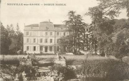 """CPA FRANCE 69 """" Neuville sur Saône, Domus Mariae"""""""