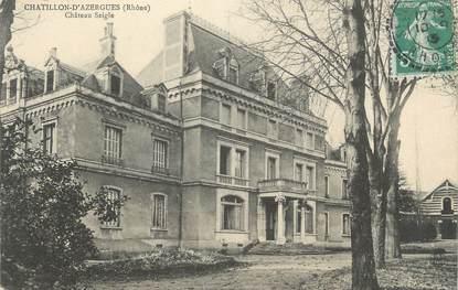 "CPA FRANCE 69 "" Chatillon d'Azergues, Château Seigle"""