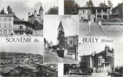 """CPSM FRANCE 69 """" Bully, Vues"""""""
