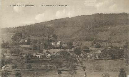 """CPA FRANCE 69 """" Azolette, Le Hameau Chaumont"""""""
