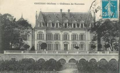"CPA FRANCE 69 "" Odenas, Château de Nervers"""