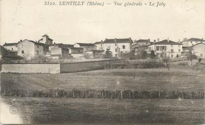 """CPA FRANCE 69 """"Lentilly, Vue générale, le Joly"""""""