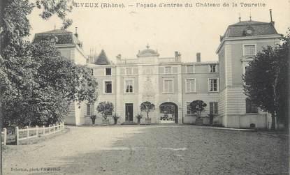"""CPA FRANCE 69 """"Eveux, Entrée du Château de la Tourette"""""""