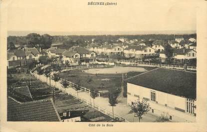 """CPA FRANCE 69 """"Décines, Cité de la Soie"""""""