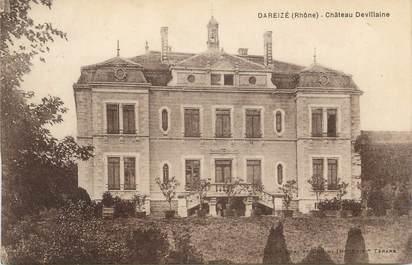 """CPA FRANCE 69 """" Dareizé, Château Devillaine"""""""