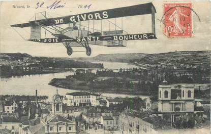 """CPA FRANCE 69 """"Givors"""""""