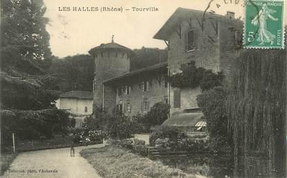 """CPA FRANCE 69 """"Les Halles, Tourville"""""""