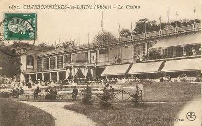 """CPA FRANCE 69 """"Charbonnières les Bains, Le casino"""""""