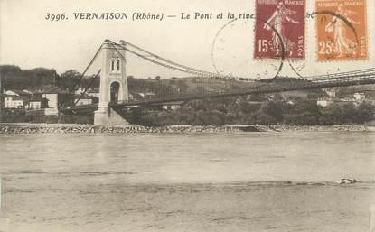 """CPA FRANCE 69 """"Vernaison, Le pont"""""""
