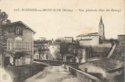 """CPA FRANCE 69 """" St Didier au Mont d'or"""""""