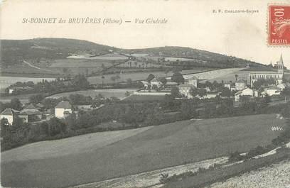 """CPA FRANCE 69 """"St Bonnet des Bruyères, Vue générale"""""""