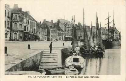 """CPA FRANCE 44 """"Le Pouliguen, Le Port au Quai Jules Sandeau"""""""