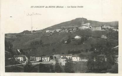 """CPA FRANCE 69 """"St Vincent de Reins, La Casse Froide"""""""