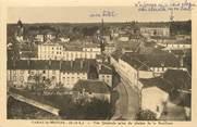 """71 SaÔne Et Loire / CPA FRANCE 71 """"Paray le Monial, vue générale prise du clocher de la Basilique"""""""