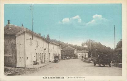 """CPA FRANCE 69 """"Les Echarmeaux, Route de Beaujeu"""""""