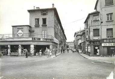 """CPSM FRANCE 69 """"Neuville sur Saône, Rue Victor Hugo"""""""