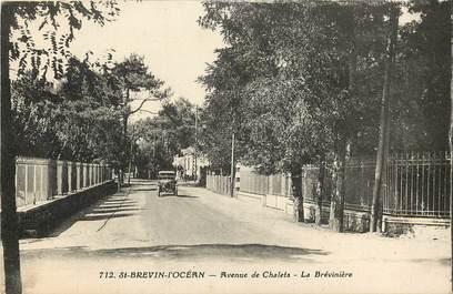 """CPA FRANCE 44 """"Saint Brévin l'Océan, avenue de Chalets, La Brévinière"""""""