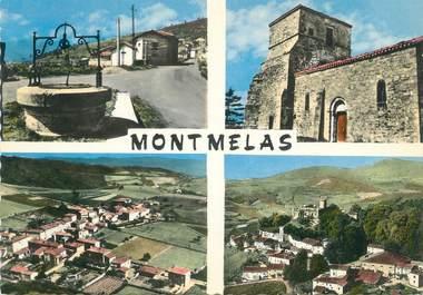 """CPSM FRANCE 69 """"Montmelas, Vues"""""""