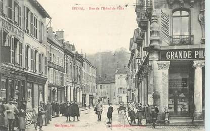 """CPA FRANCE 88 """"Epinal, rue de l'Hotel de ville"""""""