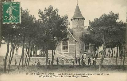"""CPA FRANCE 44 """"Saint Brévin les Pins, Le Château de la Duchesse Anne, avenue Brizeux"""""""