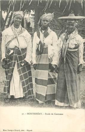 """CPA MARTINIQUE """"Montsinéry, femmes en costumes"""""""