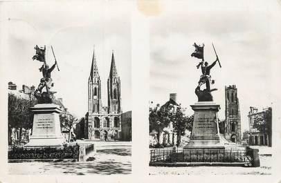 """/ CPSM FRANCE 50 """"Saint Lo"""" / MONUMENT AUX MORTS"""