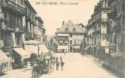 """CPA FRANCE 73 """" Aix les Bains, Place Carnot"""""""
