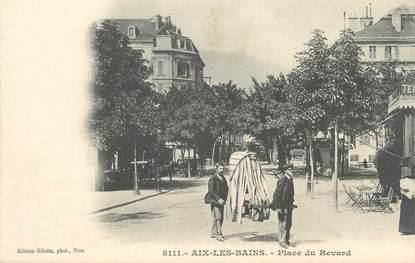"""CPA FRANCE 73 """" Aix les Bains, Place du Revard"""""""