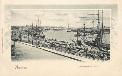 "CPA FRANCE 44 "" Nantes, Le panorama du port"""