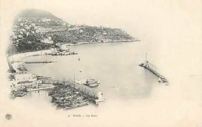 """CPA FRANCE 06 """"Nice, Le port"""""""