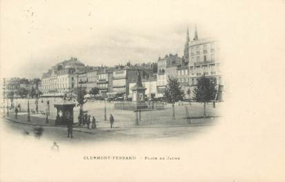 """CPA FRANCE 63 """" Clermont Ferrand, Place de Jaude"""""""