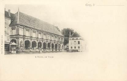 """CPA FRANCE 70 """" Gray, L'Hôtel de Ville"""""""