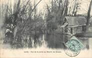 """91 Essonne CPA FRANCE 91 """"Lardy, vue de la Juine au Moulin de Goujon"""""""