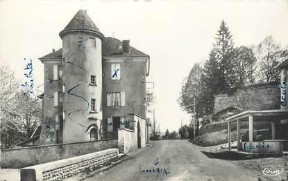 """CPSM FRANCE 38 """" Roybon, La Gendarmerie , un coin des remparts"""""""