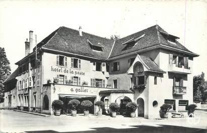 "CPSM FRANCE 38 "" Pont de Beauvoisin, Hôtel Gallet"""