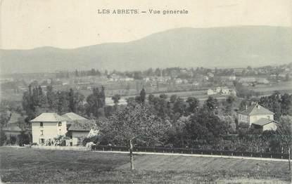 """CPA FRANCE 38 """" Les Abrets, Vue générale"""""""