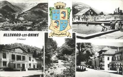 """CPSM FRANCE 38 """" Allevard les Bains, Vues"""""""