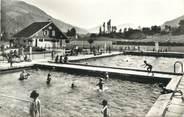 """38 Isere CPSM FRANCE 38 """" Allevard les Bains, La piscine"""""""