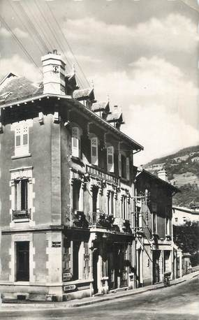 """CPSM FRANCE 38 """" Allevard les Bains, Le Nouvel Hôtel"""""""