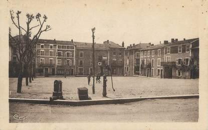 """CPA FRANCE 38 """" Beaurepaire, La nouvelle Place Ferdinand"""""""