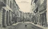 """38 Isere CPA FRANCE 38 """" Bourgoin, Rue de la République"""""""