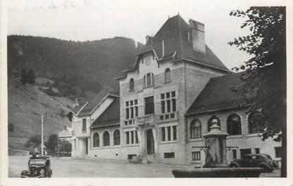 """CPSM FRANCE 38 """" Saint Pierre de Chartreuse, Ecole communale et Mairie"""""""