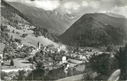 """CPSM FRANCE 38 """"Pinsot, Vue générale et Glacier du Gleyzin"""""""