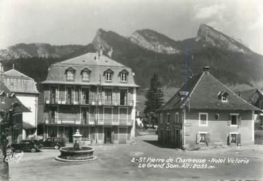 """CPSM FRANCE 38 """"St Pierre de Chartreuse, Hôtel Victoria"""""""