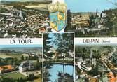 """38 Isere CPSM FRANCE 38 """"La Tour du Pin, Vues"""""""