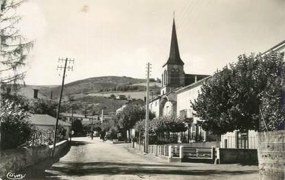 """CPSM FRANCE 42 """" St Alban les Eaux, Le bourg"""""""